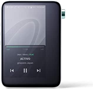 ACTIVO CT10 Lossless Music Player,Portable High Resolution Audio Player with WiFi/Bluetooth,Support Custom Equalizer USB DAC AptX HD (Black)