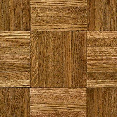 "Hartco Hardwood Floors Urethane Parquet Natural&Better 5/16"" x 12x12"" Oak - Tawny Spice Wood Back $3.41SF"