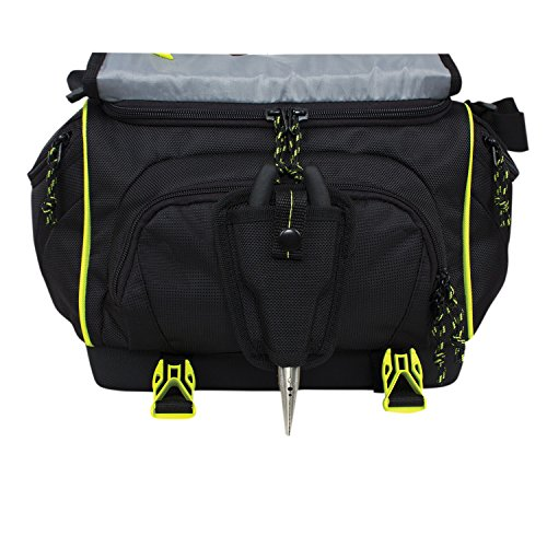 waterproof soft sided fishing tackle box storage bag with