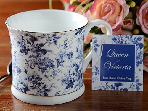 Creative Tops Queen Victoria - Taza de Porcelana Fina, diseño de Flores