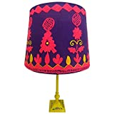 Rabari Lamp Shade in Purple/Pink, used for sale  Delivered anywhere in USA
