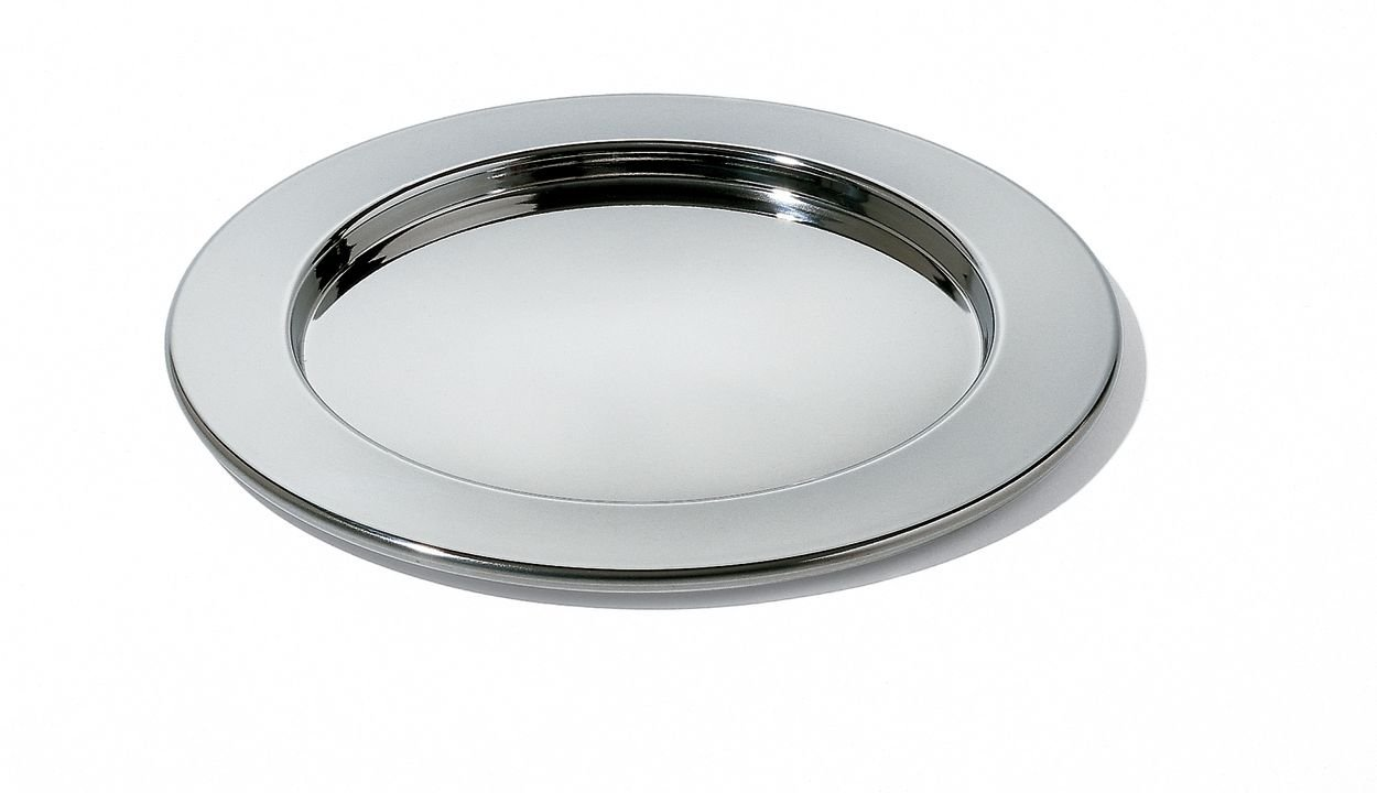 Alessi Mami Round Tray for Fondue (SG62) Giovannoni Stefano Serveware_Trays_Platters Tabletop