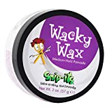 Snip-its Wacky Kids Hair Wax 2oz | Great Baby Hair Gel Alternative with All Day, Medium Strong Hold - Fresh Tropical Fragrance - All Natural Hair Wax Product Made in USA | Salon Quality. Kid Friendly.