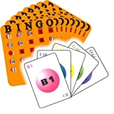 Calling Card Bingo Set with 50 Cards