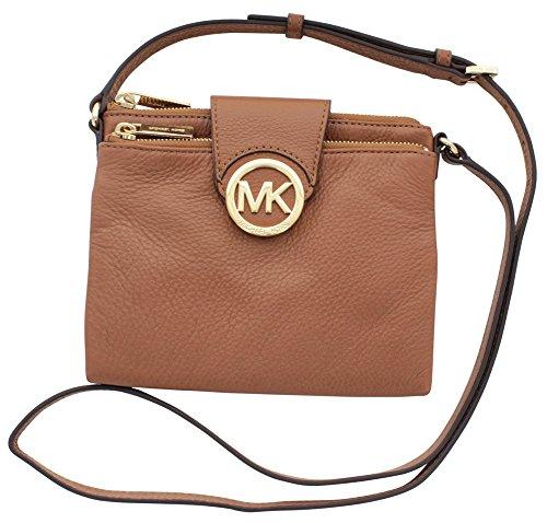 3b67fe9ac2c415 MICHAEL Michael Kors Fulton Women's Leather Crossbody Handbag (B00DE0CC68)  | Amazon price tracker / tracking, Amazon price history charts, Amazon  price ...