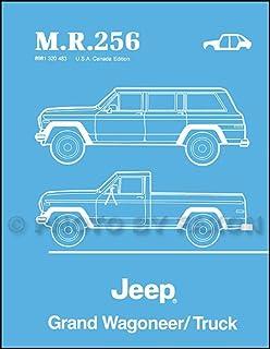 Jeep wagoneerj series 7291 haynes repair manuals haynes 1984 1988 jeep grand wagoneertruck body manual reprint mr256 fandeluxe Gallery