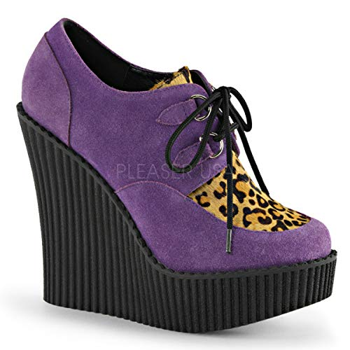 Demonia Suede Platforms - Demonia Women's Creeper-304 Creeper