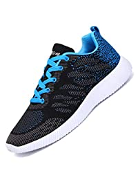 Alibress Men's Women's Casual Walking Athletic Sneakers Lightweight Breathable Mesh Running Sport Gym Shoes