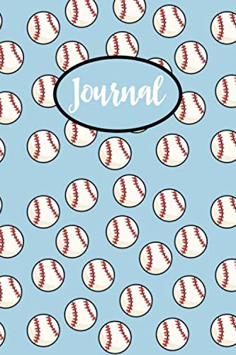 Softball Journal: Blank Lined Notebook For Taking Notes, Diary & Planner With Softball Themed Cover, Softball Gift For Coaches And Players.