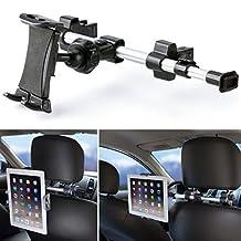 Tablet Headrest Mount, iKross Extension 360 Degrees Rotation Car Mount Tablet Backseat Headrest Mount Holder for 7 ~ 10.2 inch Tablet