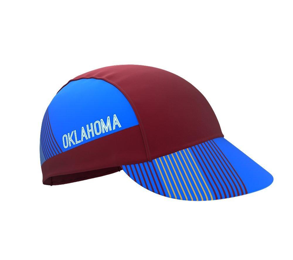 Oklahoma Bike Cycling Cap