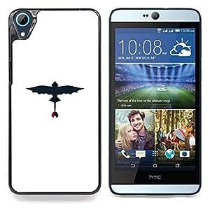 SKCASE Center / Funda Carcasa protectora - Dragon volador;;;;;;;; - HTC Desire 826