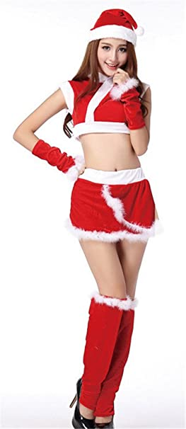womens sexy lingerie ladies christmas costumes hat chinese style holiday uniform