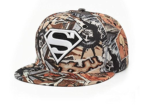 COMBO (4 units) Baseball Caps Superman Brown Green Gray Pink Men Women