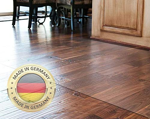 Bodenschutzmatten Bodenschutzmatte Bodenmatte Stuhlunterlage Transparent Klar Maß Nach Wunsch