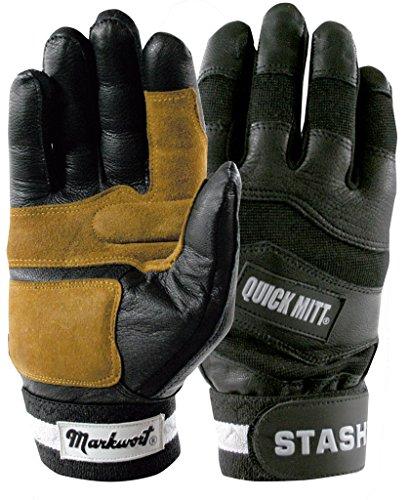 Adult Medium QuickMit Batting Gloves Hitting Quick Mitt Hitting Mitts