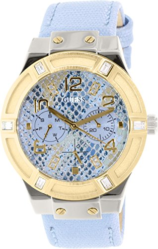 ice blue dial watch - 2