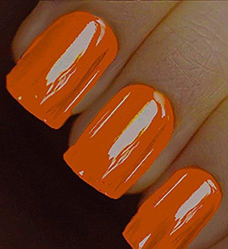 Minx Nails Orange You Glad I'm Here Chrome, Orange Chrome, 0.2 Ounce