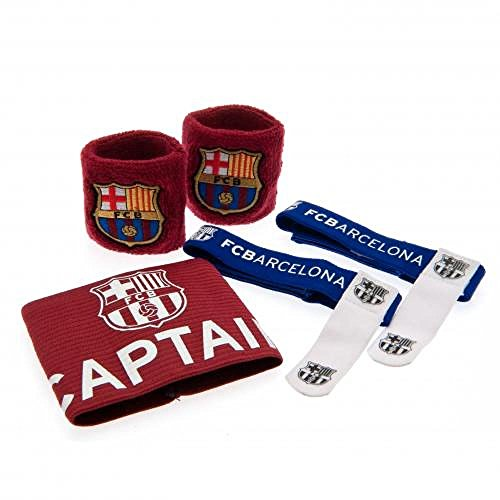 bf2111da17b FC Barcelona Official Football Gift Accessories Set - A Great Christmas   Birthday  Gift Idea For Men And Boys