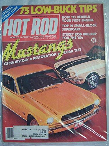 - Hot Rod Magazine December 1980 Mustangs GT350 History * Restoration * Road Test
