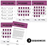 Pilates Exercise Cards, Set of 62 for Women and Men