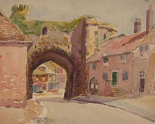 - Charles Edward Hannaford RBA - Early 20th Century Watercolour, Street Scene