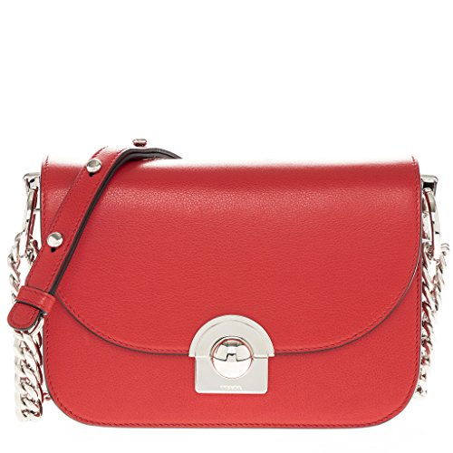 Prada-Womens-Arcade-Bag-with-Chain-Strap-Red