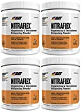 GAT Nitraflex Pre Workout 300gram, 30Sx4 PACKS (Orange)