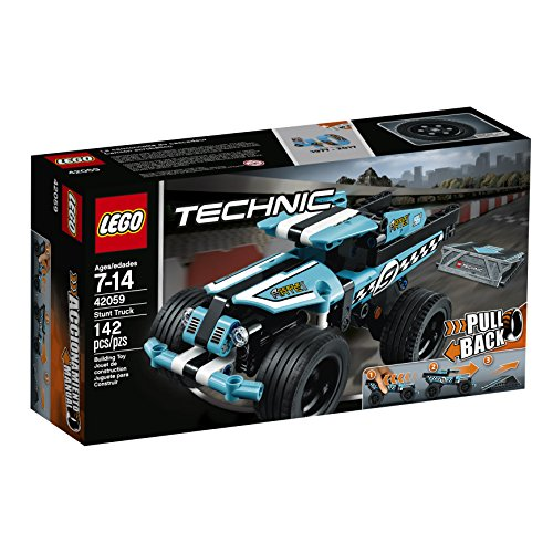 Stunt Vehicle (LEGO Technic Stunt Truck 42059 Vehicle Set, Building Toy)
