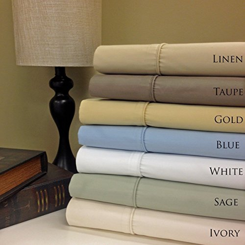 King Gray Cotton-Poly-Blend Wrinkle-Free Solid Pillowcases 650-Thread-Count Solid 2 Pillow cases