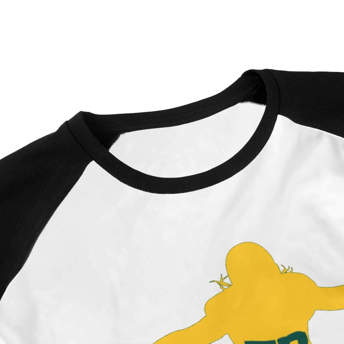Wordsto Teens Baseball Jersey Clay-Matthews-52 3//4 Sleeve Raglan Baseball T-Shirt