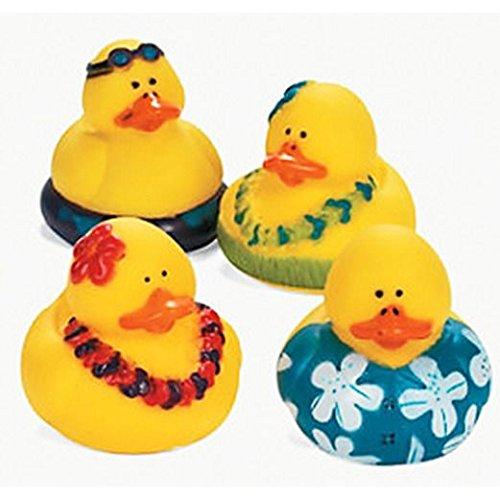 Luau Rubber Duckies - Luau Rubber