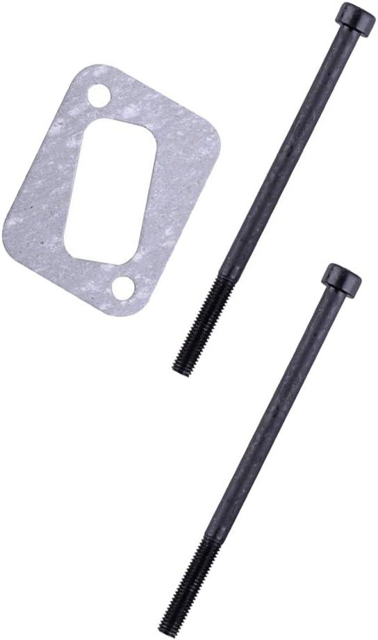 Muffler Bracket Bolt Gasket Kit For HUSQVARNA 353 351 350 340 345 346XP Chainsaw