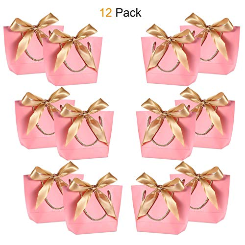 Gift Bags with Handles - WantGor 8.66x6.3x2.76