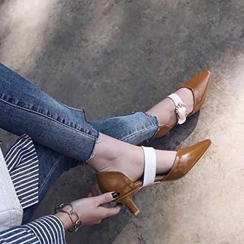 Orsay Zapatos D Moda Melady Brown Lit Mujer Big Tamanos 4I7Pxqwx