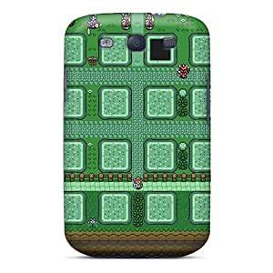 New Style AshnleyFryers Zelda Background Premium Tpu Cover Case For Galaxy S3