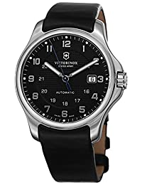 Swiss Army V241670.1 Men's Black Dial and Black Strap Watch with Knife