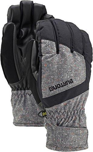 Burton Herren Snowboard Handschuhe MB Profile Undergloves, Herringbone/Tru Blk, XL, 10356102195