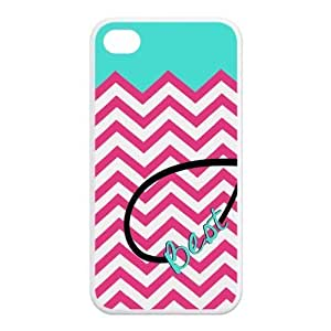 Best Friends Protective Rubber Back Fits Cover Case for iPhone 4 4s