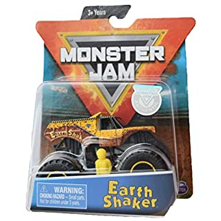 Monster Jam 1:64 Scale Earth Shaker with Yellow Driver