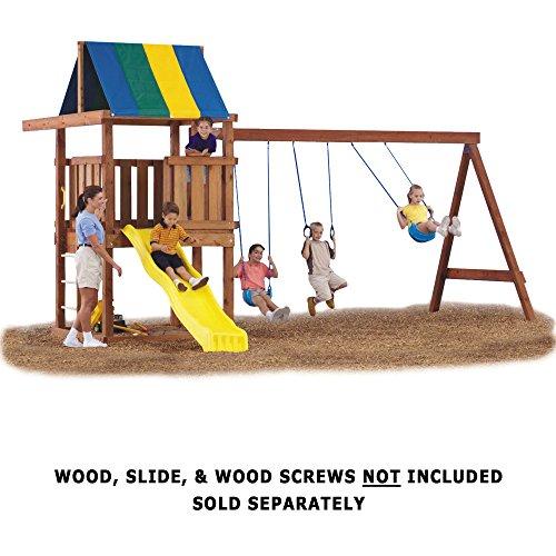 Swing sets for backyard diy hardware kit children kids for Diy play structures backyard