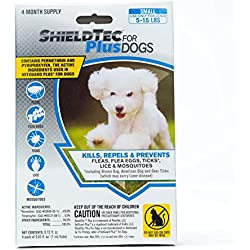 ShieldTec Flea and Tick Prevention for Dogs, 4 Month(s) Protection (4 Dose, Small)