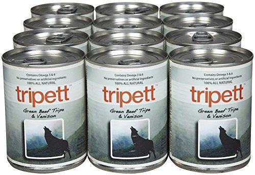 Image of Tripett Green Beef Tripe with Venison -12 x 13 oz