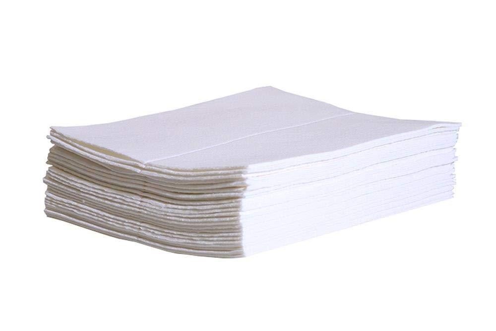 New Pig Condo Absorbent Mat for Carpet Spills - 25 Super Liquid Absorbent Pads - PM50155