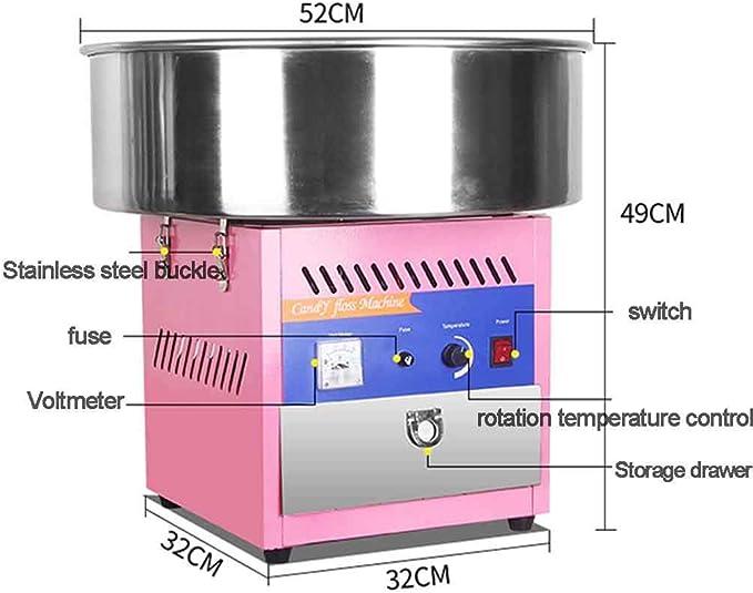 MU Máquina eléctrica Comercial de algodón Dulce para el hogar ...