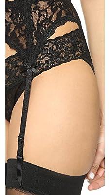Hanky Panky Women's Signature Lace Garter Belt Black Lingerie