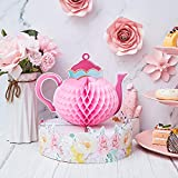WILLBOND Floral Tea Party Centerpiece Princess