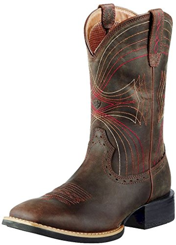 Ariat Mens Sport Wide Square Toe Western Cowboy Boot