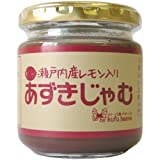 Yamato food Setouchi production lemon red bean jam 180g