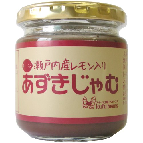 Yamato food Setouchi production lemon red bean jam 180g by Yamato food